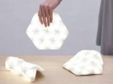 神奇的LED灯 卷起来就能带走